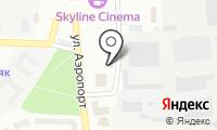 Субару на карте