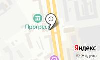 Сибирский цветочный магазин на карте