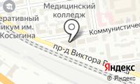 Алтекс на карте
