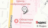 Салон-парикмахерская на ул. Немировича-Данченко на карте