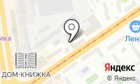Точприбор на карте
