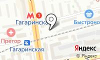 Автостоянка на Красном Проспекте на карте