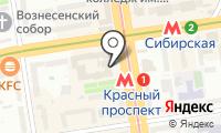 Дом офицеров на карте