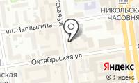 Ново-Николаевскъ на карте