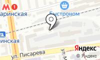 Отдел судебных приставов по Новосибирскому району г. Новосибирска на карте