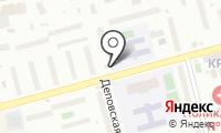 Деповской на карте