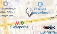 Станция Сибирская на карте