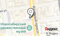 Новосибирское государственное художественное училище на карте