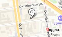 Бекар-Центр на карте