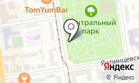 Центральный парк культуры и отдыха на карте