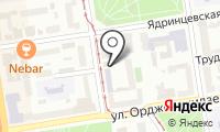 Управление по государственной охране объектов культурного наследия Новосибирской области на карте
