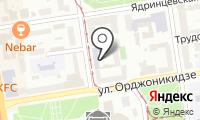 Новосибирское командное речное училище им. С.И. Дежнева на карте