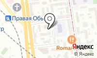 Почтовое отделение НОВОСИБИРСК 7 на карте