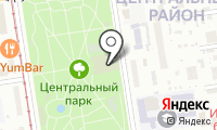 Новосибирский театр музыкальной комедии на карте