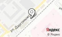 Дэнс на карте