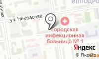 Почтовое отделение НОВОСИБИРСК 5 на карте