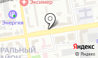 Автостоянка на ул. Фрунзе на карте