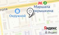 Мастерская по ремонту одежды и обуви на ул. Крылова на карте