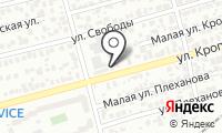 Автосервис на ул Кропоткина на карте