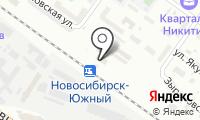 Новосибирск-Южный на карте