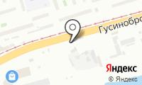 Автостоянка на Гусинобродском шоссе на карте