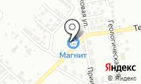 Сергеевские бани на карте