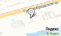 Топаз на карте