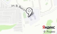 Средняя общеобразовательная школа №195 на карте