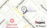 Почтовое отделение БИЙСК 33 на карте