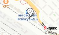 Почтовое отделение НОВОКУЗНЕЦК 35 на карте