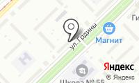 Почтовое отделение НОВОКУЗНЕЦК 66 на карте