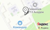 Почтовое отделение КРАСНОЯРСК 36 на карте