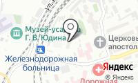 Почтовое отделение КРАСНОЯРСК 58 на карте