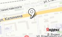 Почтовое отделение КРАСНОЯРСК 48 на карте