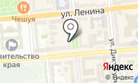 Почтовое отделение КРАСНОЯРСК 17 на карте