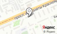 Почтовое отделение КРАСНОЯРСК 10 на карте