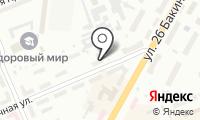 Почтовое отделение КРАСНОЯРСК 4 на карте