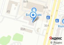Компания «Хладосервис» на карте