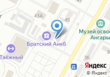 Компания «Братский Акционерный Народный коммерческий Банк» на карте