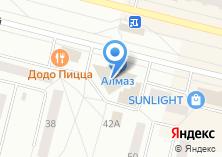 Компания «ТВОЕ» на карте
