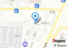 Компания «Братское троллейбусное управление» на карте