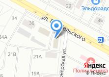 Компания «A Service» на карте