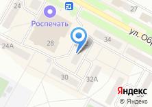 Компания «Юничел» на карте