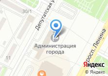Компания «Комитет финансов Администрации г. Братска» на карте