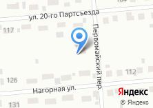 Компания «Продовольственный магазин №16» на карте