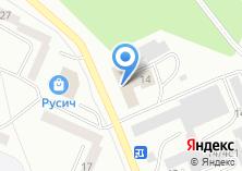 Компания «Карамель» на карте