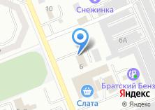 Компания «Иркутская авиабаза» на карте