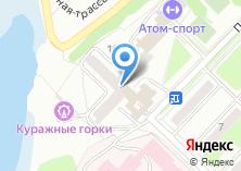 Компания «Атом-спорт» на карте