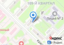 Компания «Мировые судьи г. Ангарска и Ангарского района» на карте