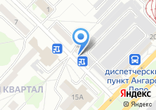 Компания «Кладовка38» на карте